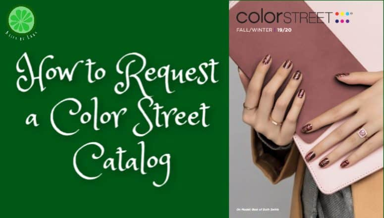 How To Request a Color Street Catalog:  3 Easy Options