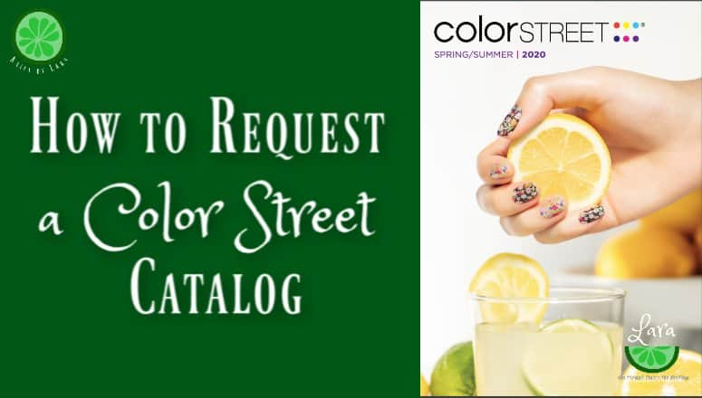 How To Request a Color Street Catalog:  2 Easy Options