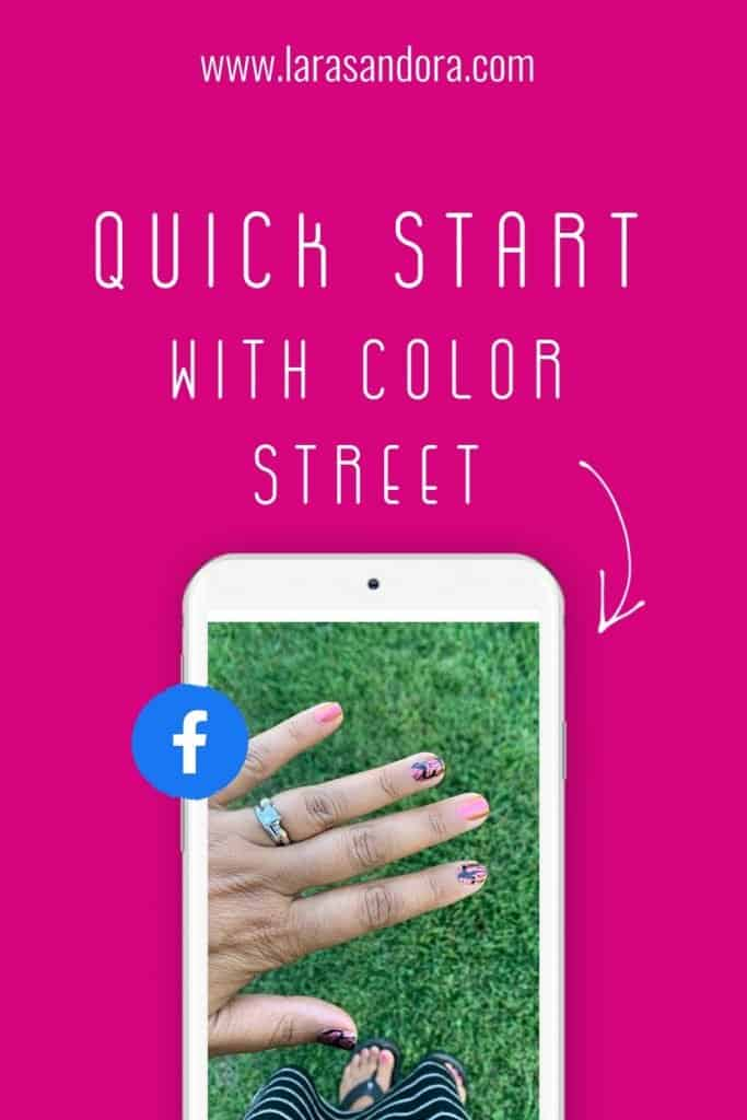 quick start with Color Street