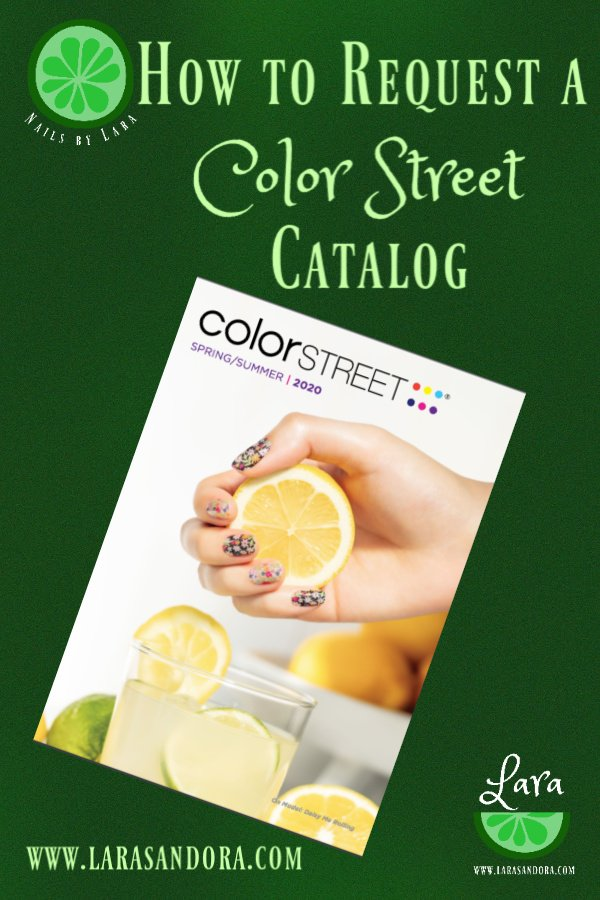 Color Street Spring 2020 catalog