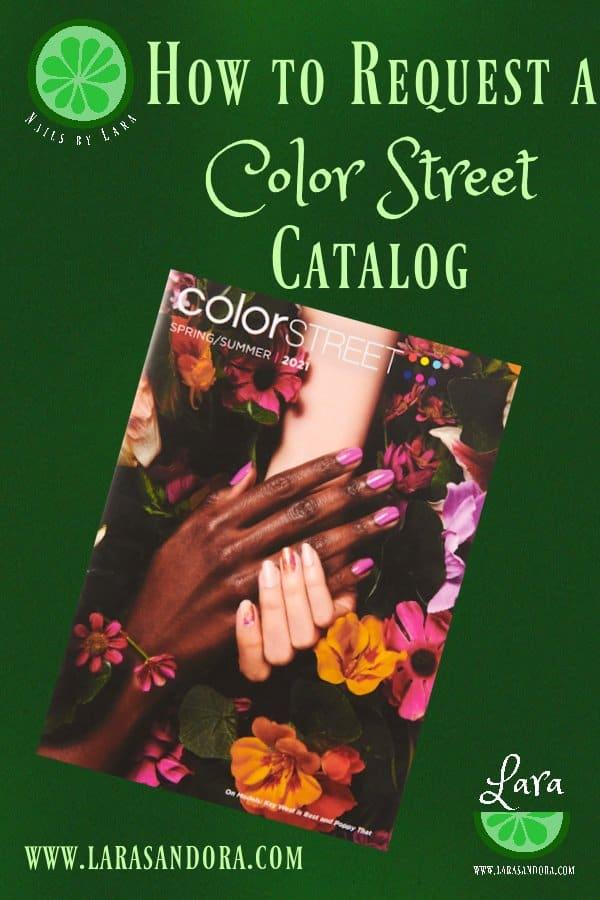 Color Street Spring 2021 catalog