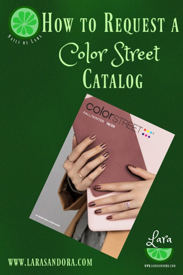 Color Street Fall 2019 catalog