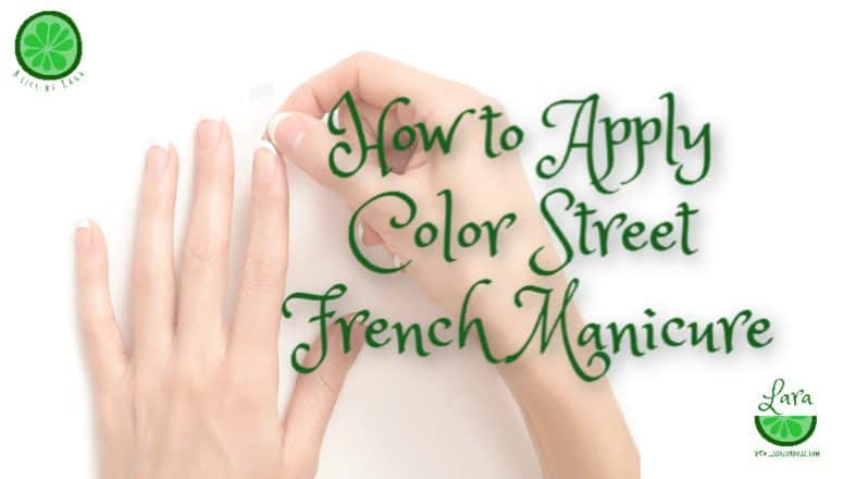 Applying French Manicure Color Street Makes it Easy in 8 Steps