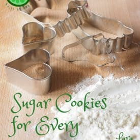 Sugar Cookies for Every Occasion, cookie cutters