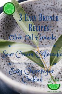 3 easy brunch recipes