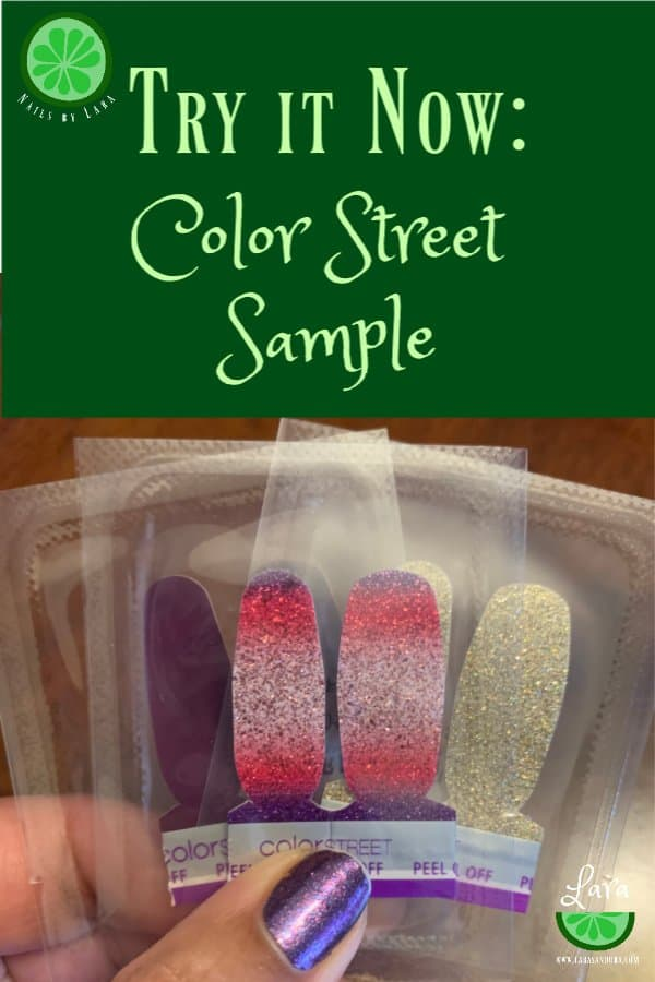 Try Color Street, request sample