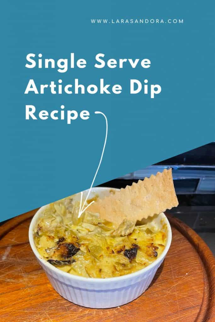 Two Dips: Artichoke Dip