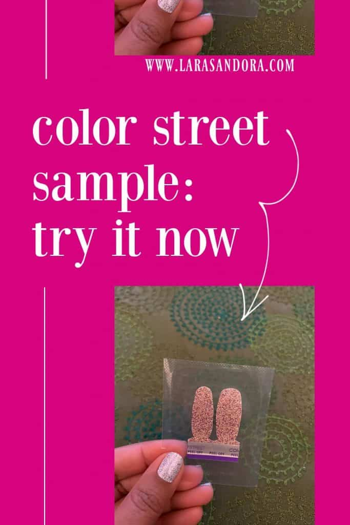 Color Street Sample