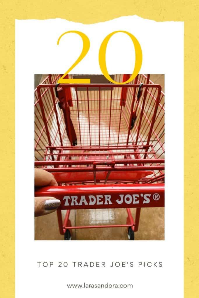 Trader Joe's shopping cart