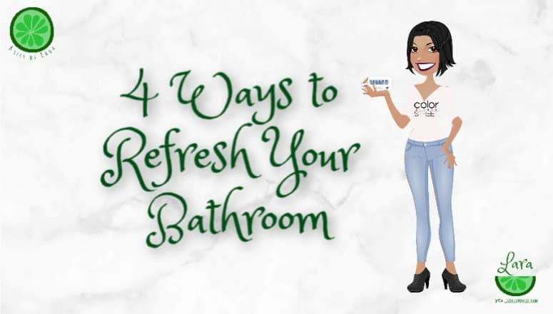 4 Ways to Refresh Your Bathroom