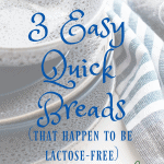 quick breads dairy free