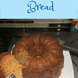 banana bread recipe, dairy free quick bread
