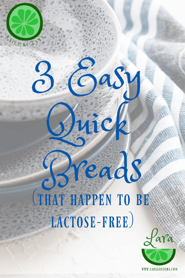 3 dairy free quick breads