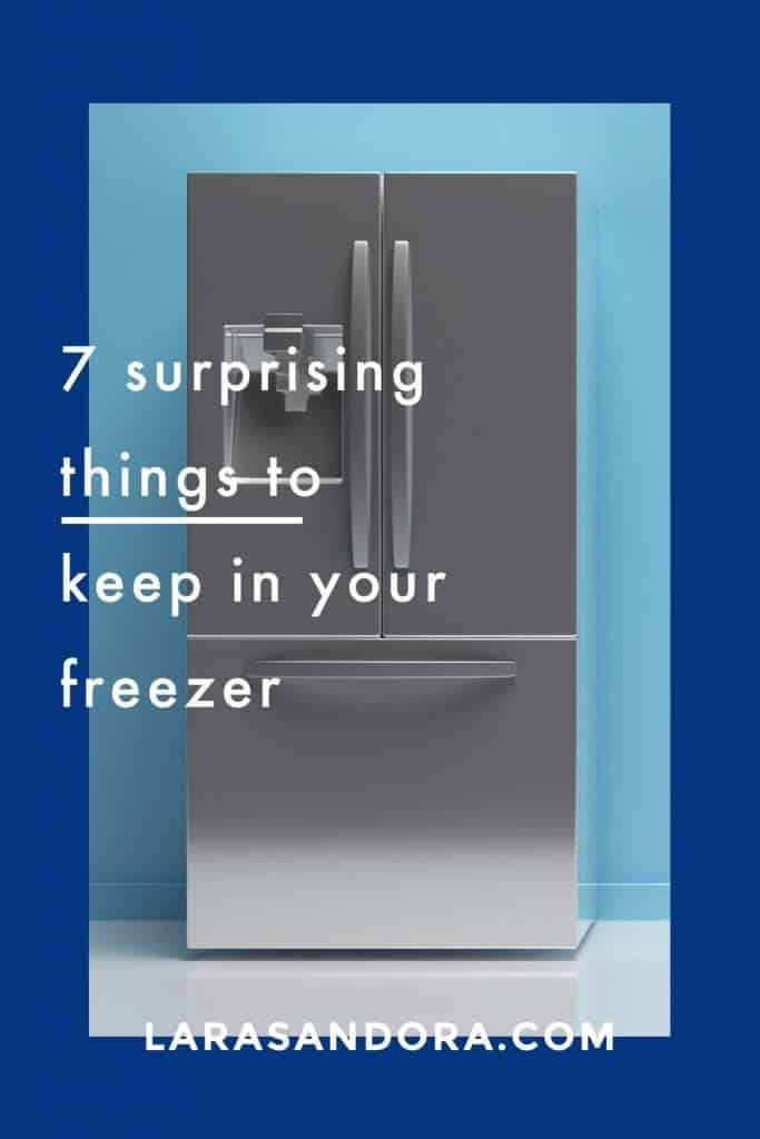 Time Savers: 7 Surprising things To Keep in Your Freezer