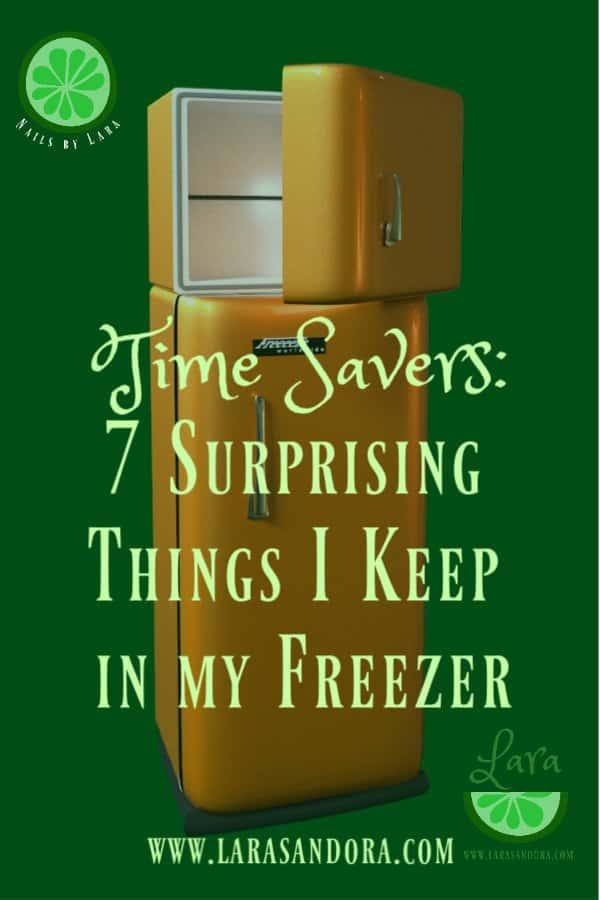 time savers, keep in freezer