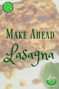 make ahead lasagna