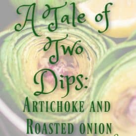Artichoke and Roasted Onion Dip Recipes