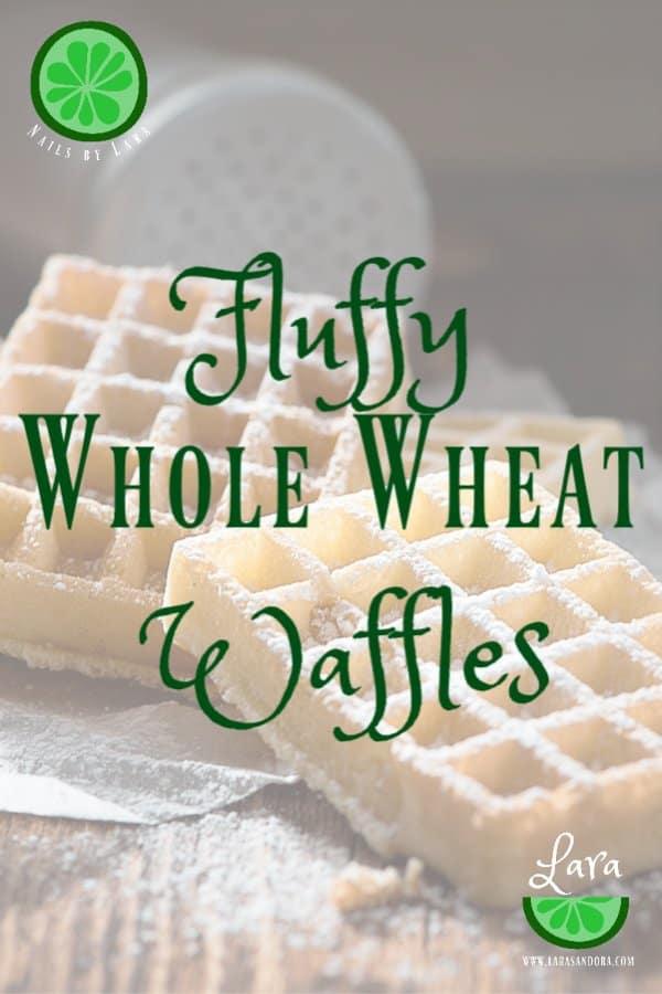 Easy weekday waffle recipe.