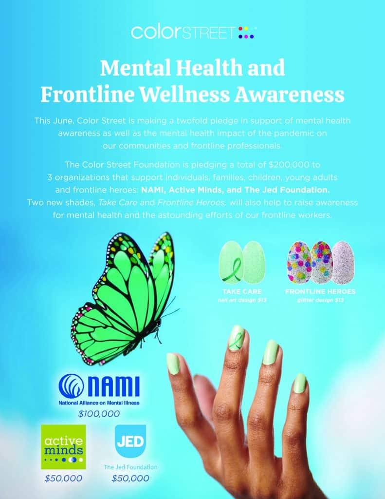Color Street Mental Health Awareness