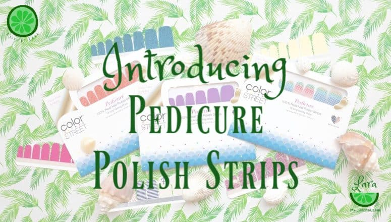 Introducing Pedicure Polish Strips from Color Street