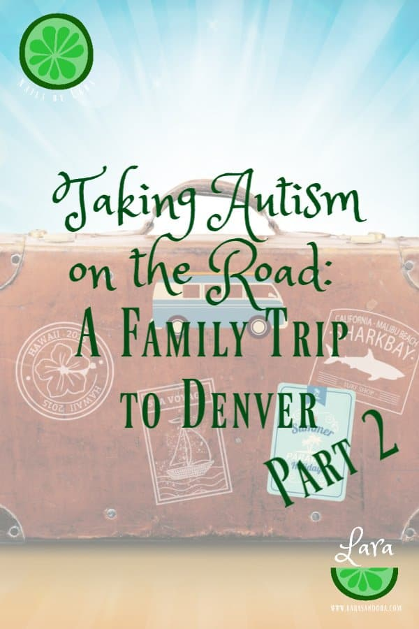 family travel with autism