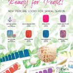 pedicure polish strips spring 2019