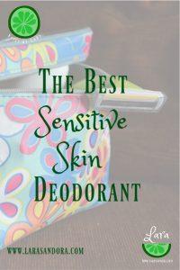 best sensitive skin deodorant