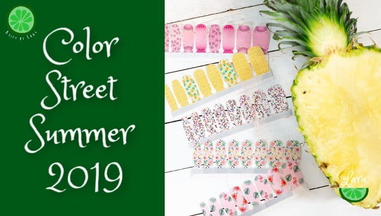 Color Street Summer 2019:  Don't miss these stunning designs!