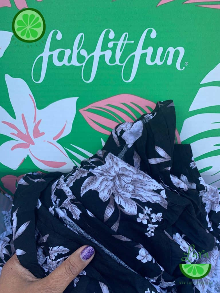 Summer 2019 FabFitFun Box Spiritual Gangster Kimono