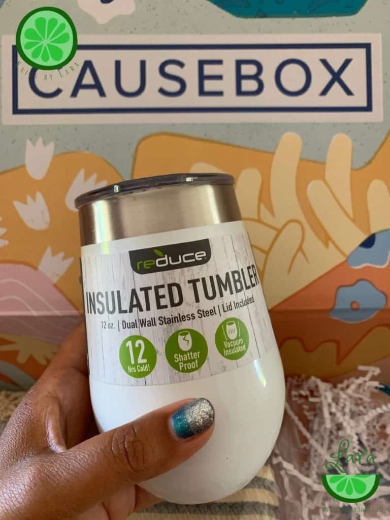 Causebox Summer 2019 Tumbler