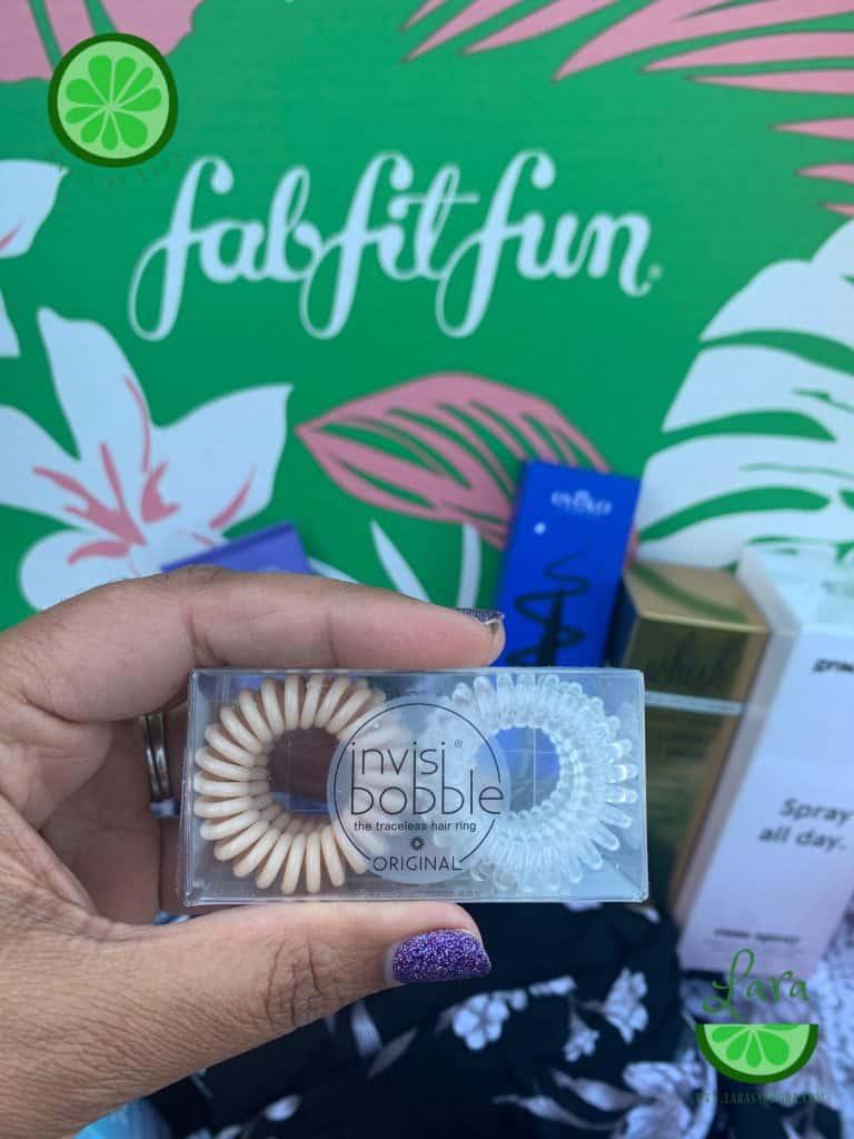 Summer 2019 FabFitFun Box Invisibobbles