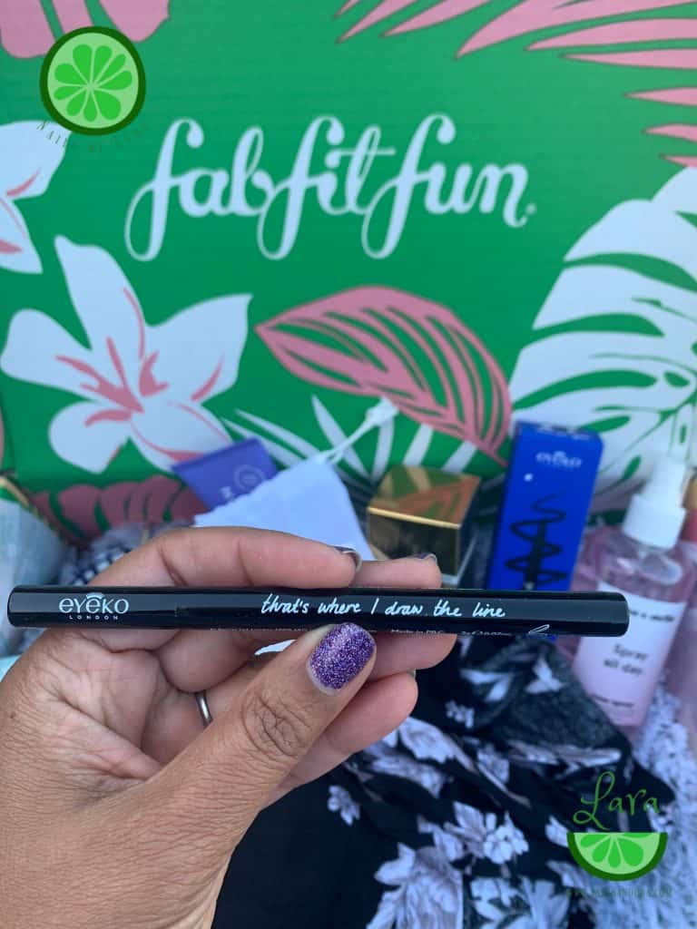 Summer 2019 FabFitFun Box Eyeko Eyeliner