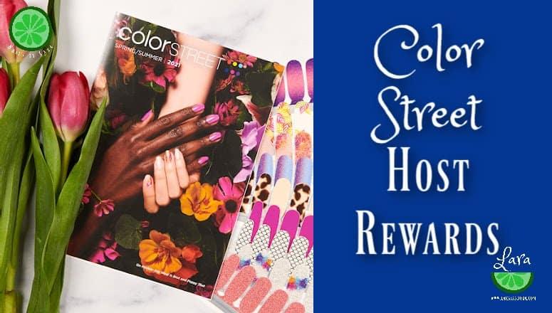 Color Street Host Rewards