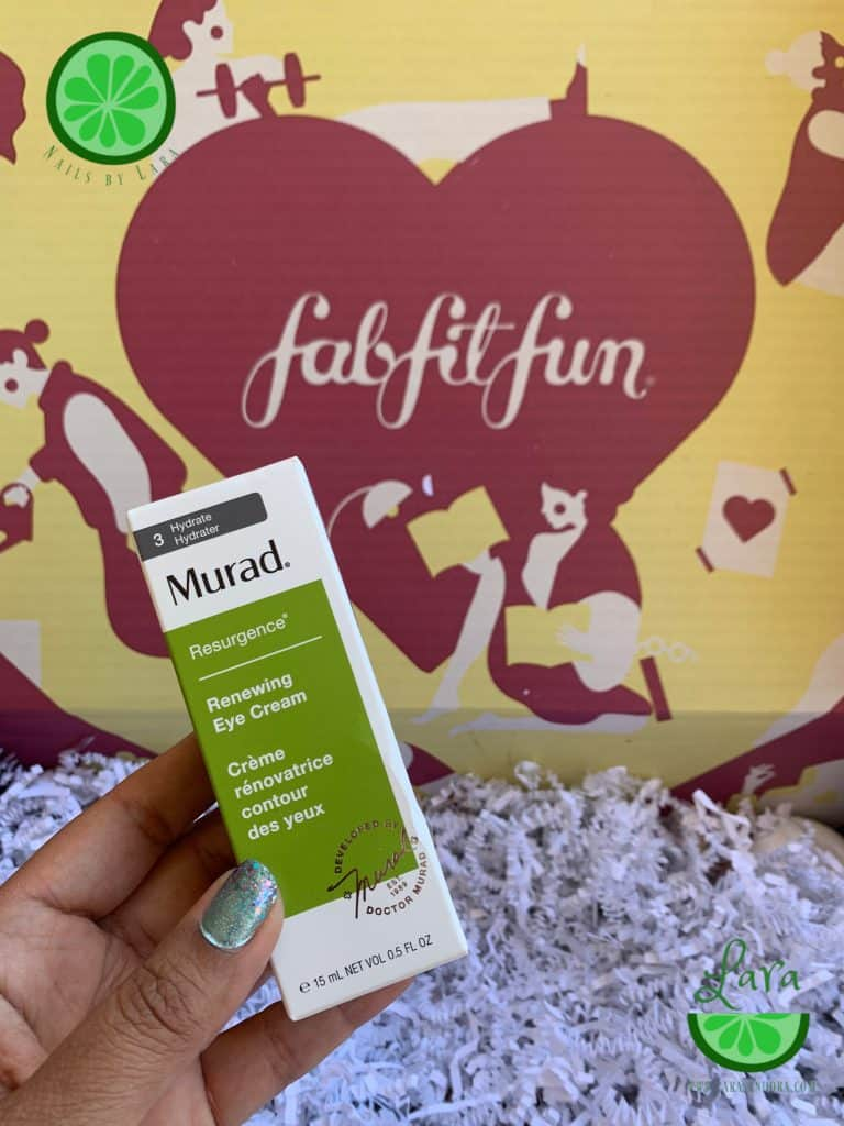 FabFitFun Fall 2019 Box Murad Renewing Eye Cream