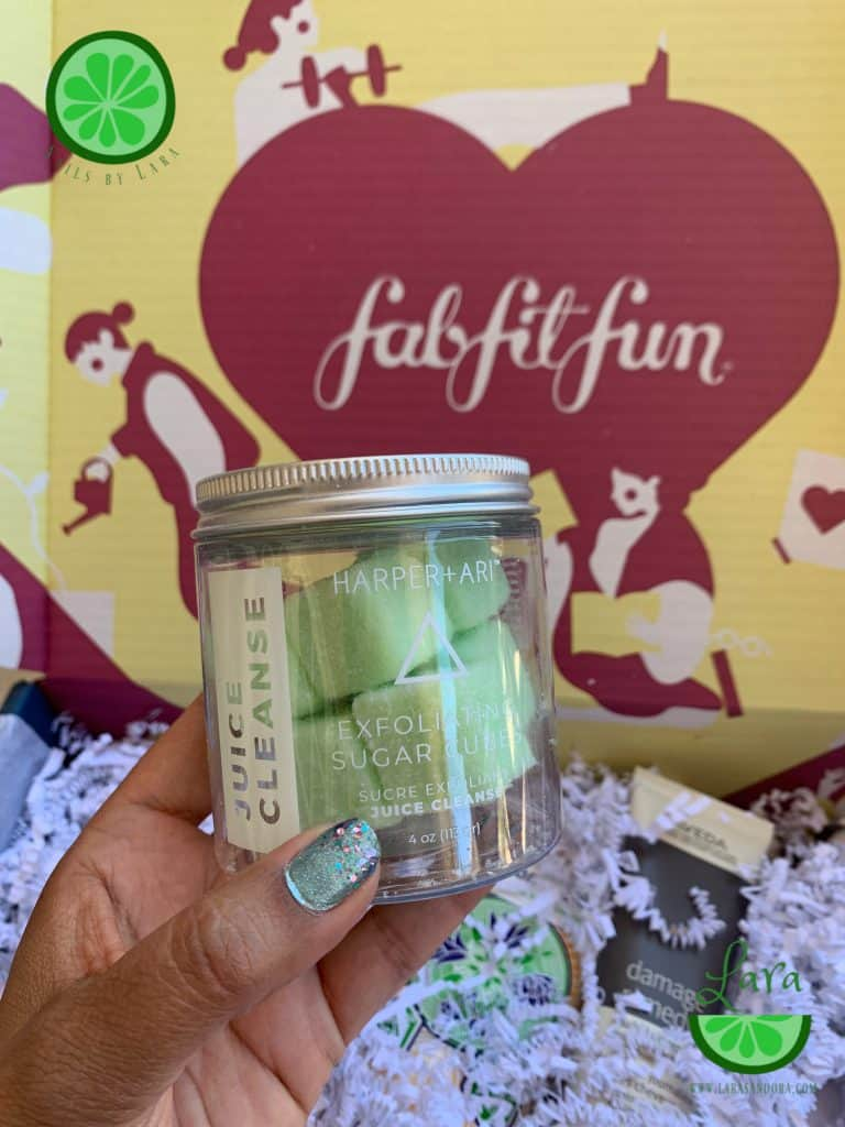 FabFitFun Fall 2019 Box Harper + Ari Juice Cleanse Exfoliating Sugar Cubes