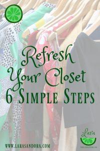 refresh your closet