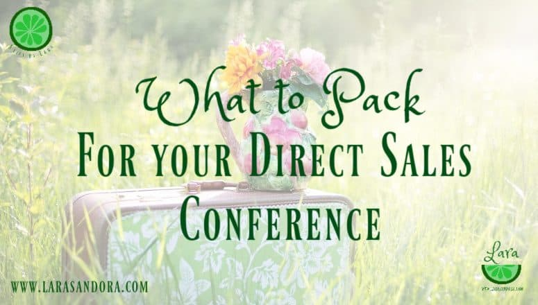Top 10 Things to Pack for your Direct Sales Conference