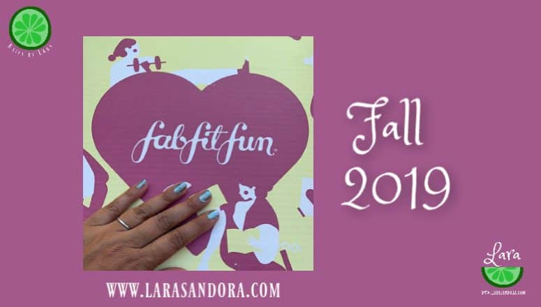 FabFitFun Fall 2019 Box:  The Key Ingredients