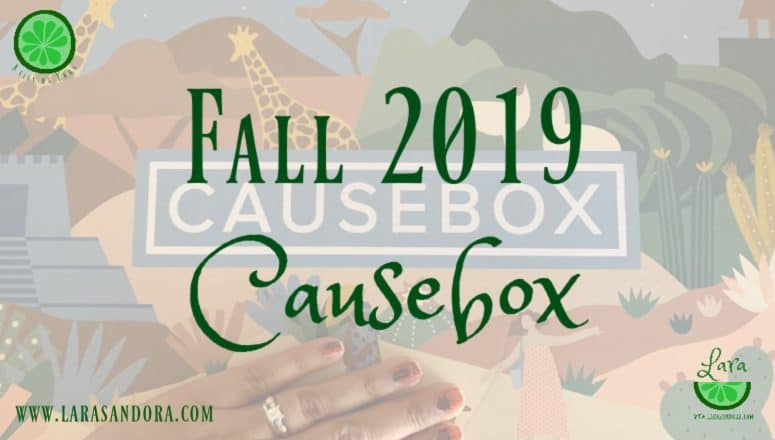 Fall 2019 Causebox:  Treat Yourself – or a Friend – Now