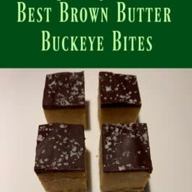 Fall Treats: Best Brown Butter Buckeye Bites