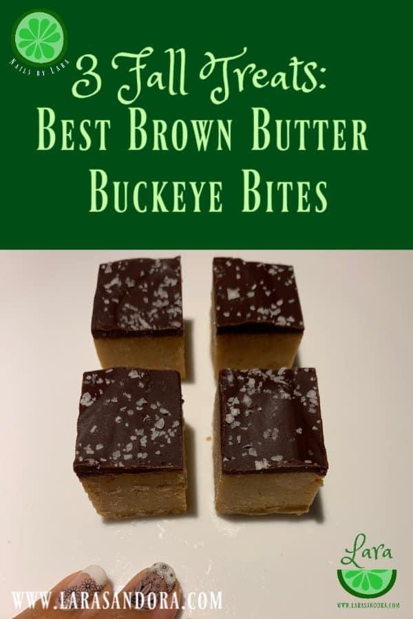 Fall Treats: Best Brown Butter Buckeye Bites