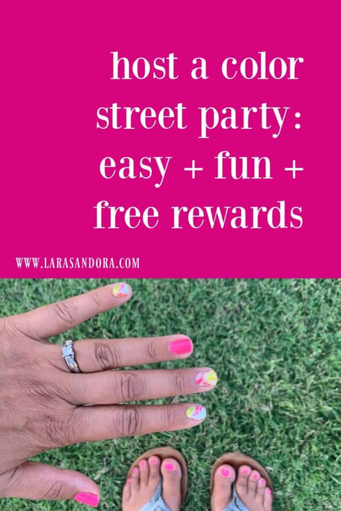 5 Simple Tips to Host a Color Street Party