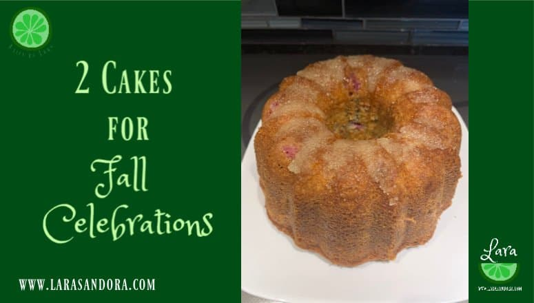 2 Cakes for Fall Celebrations