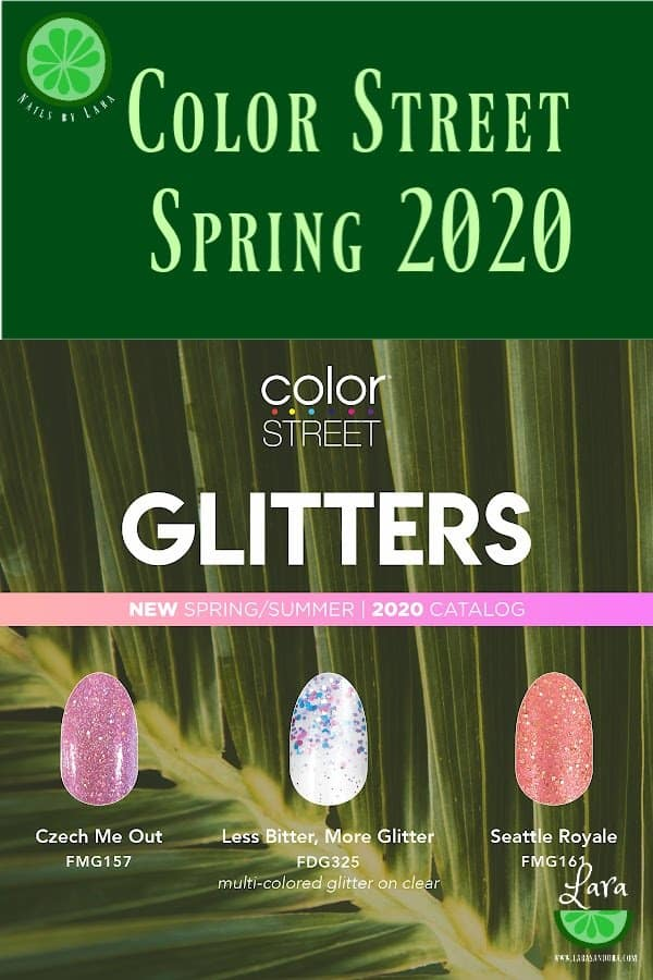 Color Street Spring 2020 Glitters