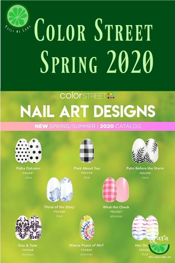 Color Street Spring 2020 Nail Art
