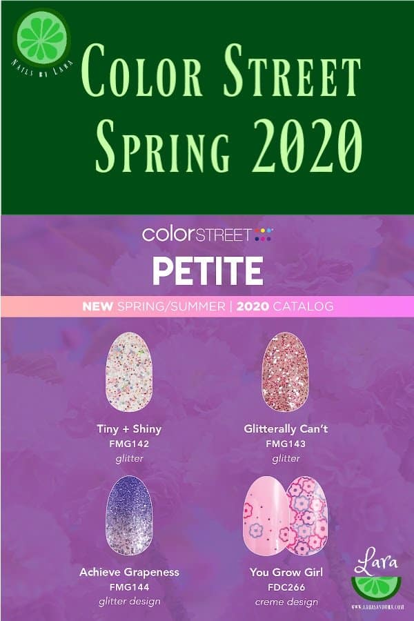 Color Street Spring 2020 Petites