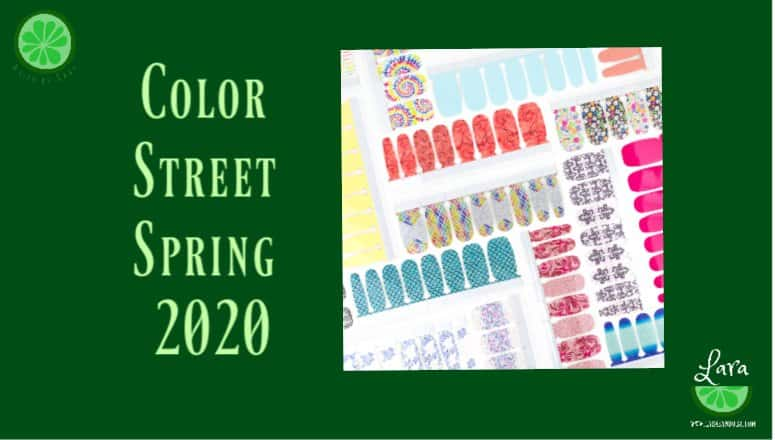 Color Street Spring 2020 Collection:  Sensational