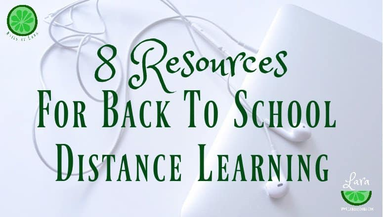 8 Resources for Back to School Distance Learning