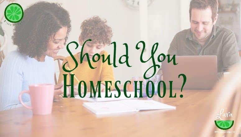 Should You Homeschool in 2020?