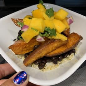 Caribbean Sweet Potato Bowl